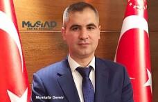 MÜSİAD İngiltere Başkanlığına Mustafa Demir Getirildi