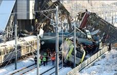 Tren kazasından kurtulan vatandaş dehşet anlarını anlattı
