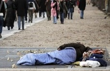 Hollanda'da evsizlerin sayısı iki kat arttı