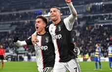 Ronaldo, yanlışlıkla Dybala'yı dudağından öptü
