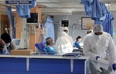 Berlin'de yapılan geçici Kovid-19 hastanesi basına tanıtıldı