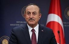Dışişleri Bakanı Çavuşoğlu: Kıbrıs'ta iki devletli çözümün olması gerekiyor