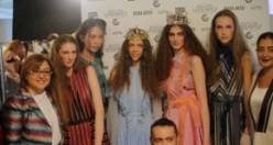 Gaziantep'in Kutnu Kumaşı Londra Moda Haftası'nda Tanıltı