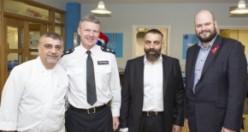 Hackney Polisi'nden Farklı Din Temsilcilerine 'Leziz' Kahvaltısı