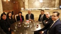Türk Eximbank Genel Müdürü Adnan Yıldırım, Avrupalı Türk Markalar Birliği, Yemeğinde