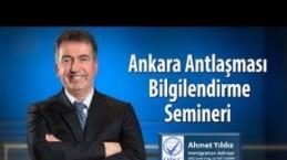 İstanbul'da Ankara Anlaşması ve İngiltere Vizesi Semineri