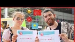 Yunus Dalgıç Londralılara Türk Olsaydın Hangi Partiye Oy Verirdin Diye Sordu