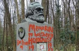 Karl Marx'ın Londra'daki mezarına saldırı