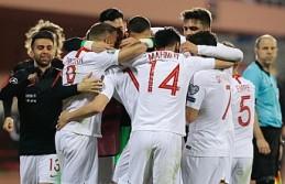 Millilerimiz Arnavutluk'a Puan Bırakmadı