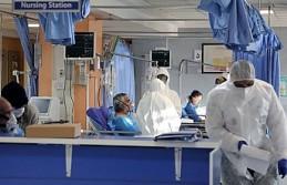 Berlin'de yapılan geçici Kovid-19 hastanesi...