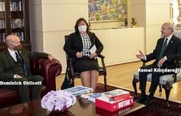 Kılıçdaroğlu, İngiltere'nin Ankara Büyükelçisi Chilcott'u Kabul Etti
