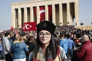 Atatürk, ebediyete intikalinin 79'uncu yılında törenlerle anıldı