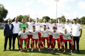 KKTC Milli Futbol Takımı Londra Confia Kupası Tibet Maçı