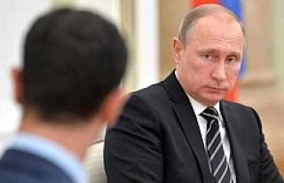 Esad, ülkesinin anahtarını Putin'e teslim...