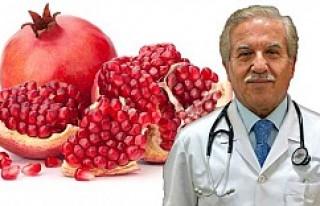 Kansere ve gribe karşı nar tüketin