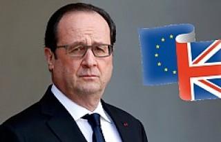 Hollande, İngiltere'ye taviz vermiyor