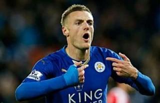 Leicester City, Vardy ile nikah tazeledi