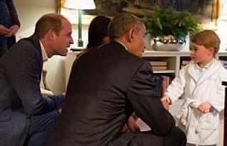 Obama, küçük Prens ile tanıştı