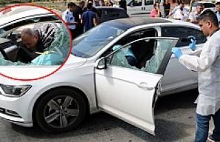 İşadamına trafik ışıklarında silahlı saldırı