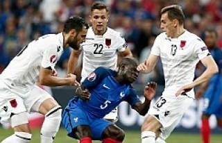 EURO 2016: Fransa: 2 - Arnavutluk: 0