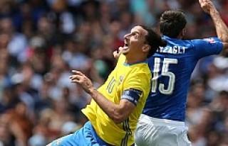 EURO 2016: İtalya - İsveç; 1-0