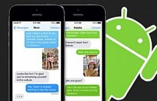 iMessage Android'e geliyor