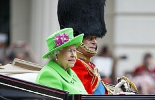Londra'da Kraliçe'nin 90. doğum günü...