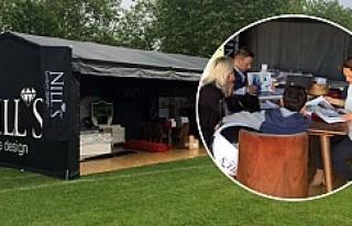 Nill's Furniture Design Londra'ya çadır kurdu