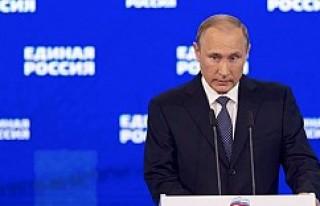 Vladimir Putin'den Türk halkına taziye mesajı