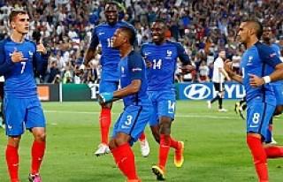 Almanya 0:2 Fransa