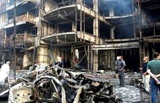 IŞİD'den Bağdat'ta bombalı saldırı:...