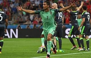 Portekiz 2:0 Galler