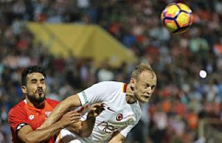 Galatasaray, Adana'dan tek golle üç puanı...