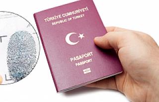 """Pasaportlarda """"parmak izi"""" dönemi"""
