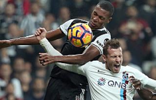 Beşiktaş, Trabzon'a karşı zorlanarak kazandı:...