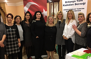 Britanya Türk Kadınları Derneği'nde yeni yönetim...