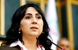 HDP Eş Genel Başkanı Figen Yüksekdağ gözaltına...