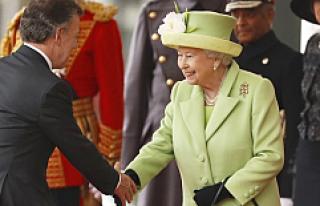 Nobel ödüllü Kolombiya Devlet Başkanı Santos,...