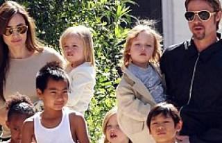 Pitt ile Jolie'nin çocuklarının velayeti kimde...