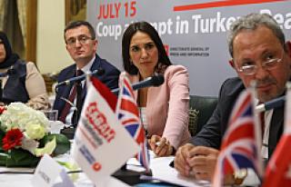 Sabah yazarları İngiliz Parlamentosu'nda '15...