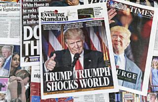 Trump'ın ABD başkanı seçilmesine Avrupa basını...