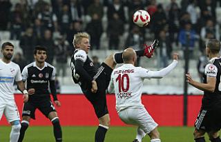 Beşiktaş, kupada bir üst tura yükseldi