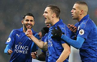 Son şampiyon Leicester City, Manchester City'yi...