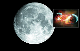 Bilim dünyası Ay'ın nasıl oluştuğu teorisini...