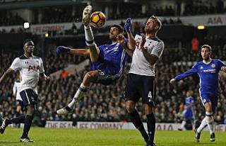 Chelsea'nin serisini Tottenham bozdu