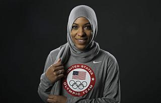 ABD'nin ilk başörtülü olimpik sporcusuna...
