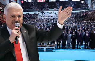 AK Parti 'Evet' kampanyasını Ankara'da...