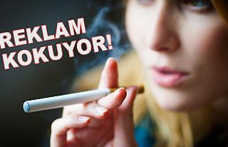 Elektronik sigaralar 'çok daha güvenli'ymiş!