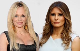 Pamela Anderson'dan First Lady Trump'a mesaj...