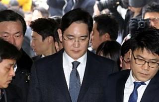 Samsung'un müstakbel başkanı tutuklandı